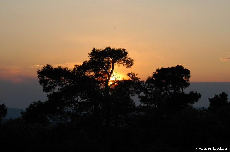 Dağbaşından Güneş Batışı